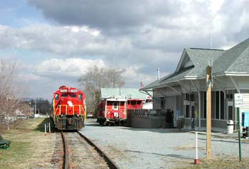 Train Depot Blue Ridge Georgia